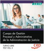CUERPO GESTION PROCESAL Y ADMINISTRATIVA JUSTICIA LIBRE 2