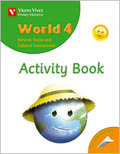 WORLD, NATURAL, SOCIAL AND CULTURAL ENVIROMENT, 4 EDUCACIÓN PRIMARIA, 2 CICLE. ACTIVITY BOOK
