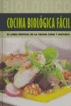 COCINA BIOLOGICA FACIL.