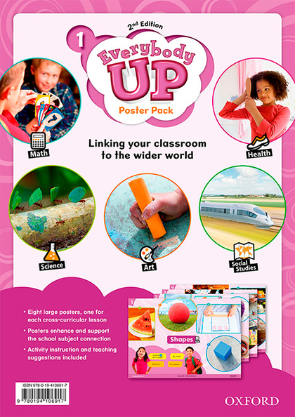 EVERYBODY UP! 1. POSTERS 2ND EDITION
