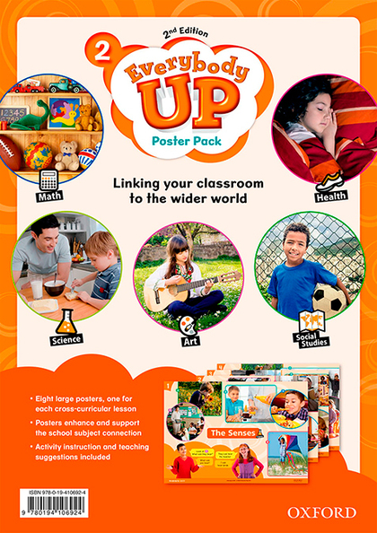 EVERYBODY UP! 2. POSTERS 2ND EDITION