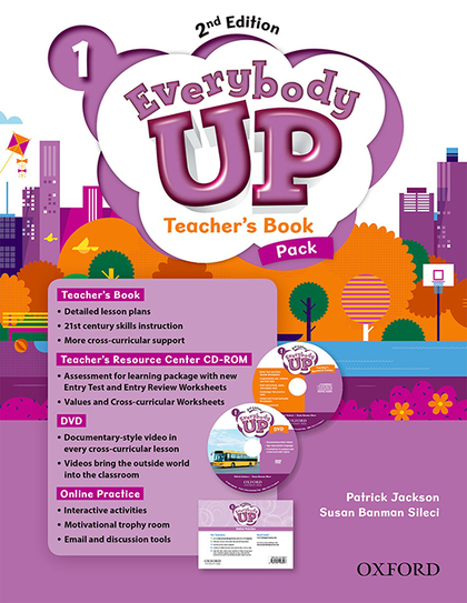 EVERYBODY UP! 1. TEACHER´S BOOK W/DVD& ONLINE PRACTICE PACK 2ND EDITION