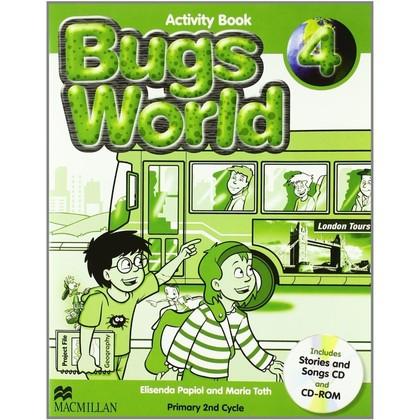 NEW BUGS WORLD 4ºEP WB PACK