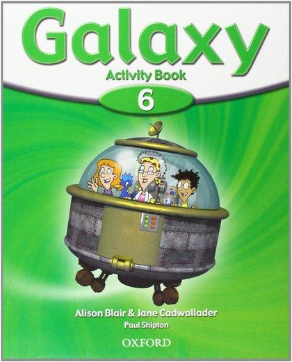 GALAXY 6 ACTIVITY BOOK