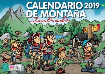 CALENDARIO DE MONTAÑA ILUSTRADO 2019.