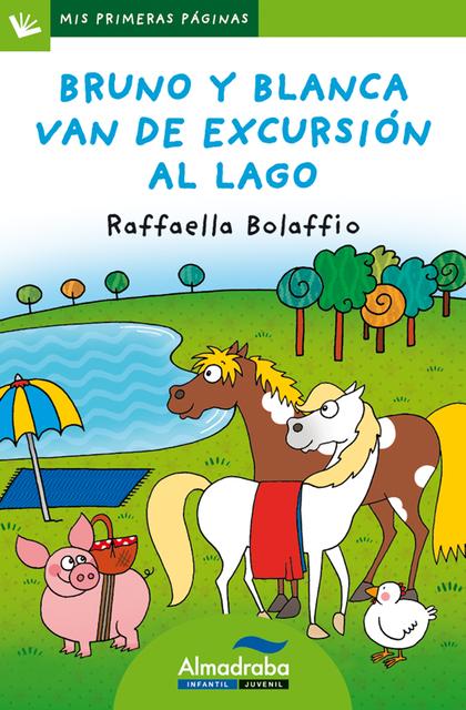 BRUNO Y BLANCA VAN DE EXCURSIÓN AL LAGO (LETRA DE PALO).
