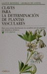 CLAVES PARA DETERMINACION DE PLANTAS VASCULARES