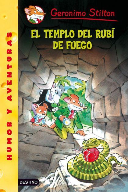 GERONIMO STILTON 48. EL TEMPLO DEL RUBÍ DE FUEGO