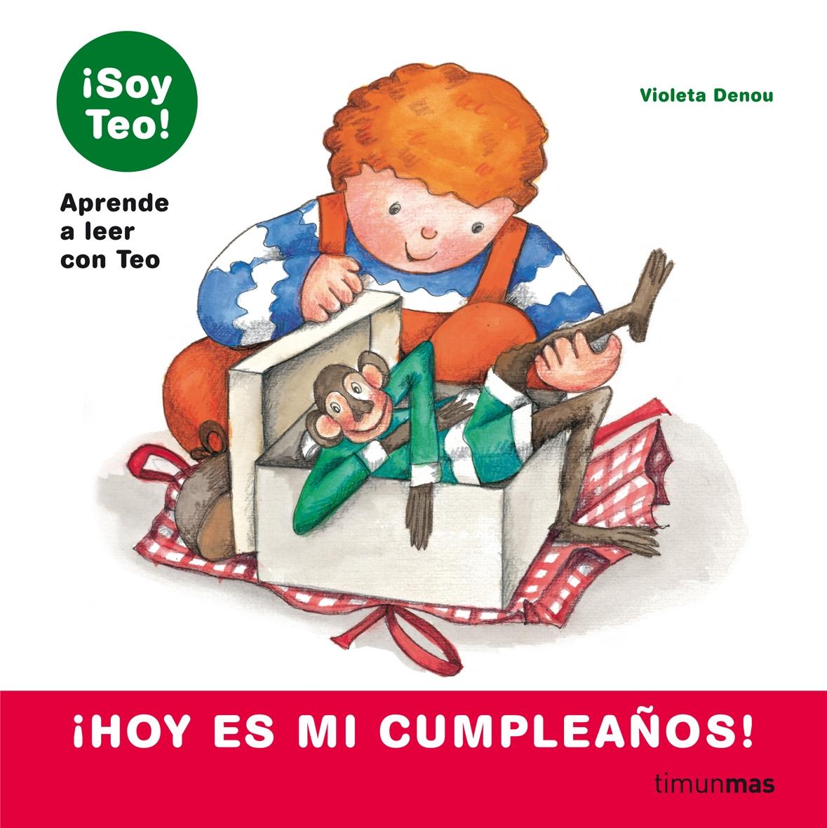 ¡Hoy es mi cumpleaños!