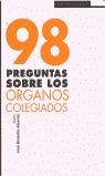 98 PREGUNTAS SOBRE ORGANOS COLEGIADOS