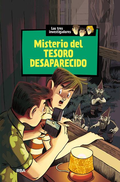 MISTERIO DEL TESORO DESAPARECIDO                                                LOS TRES INVEST
