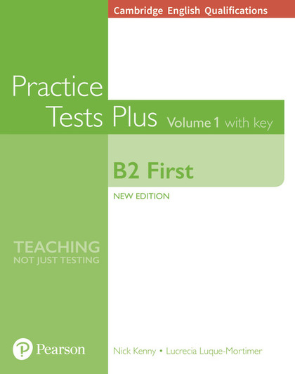 FIRST (FCE) PRACTICE TESTS PLUS 1 (NEW EDITION) STUDENT´S BOOK WITH KEY & ONLINE