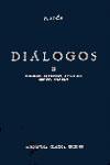 DIALOGOS II (GORGIAS,MENEXENO,EUTIDEMO,MENON,CRATILO N.61