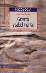 GÉNERO Y SALUD MENTAL.