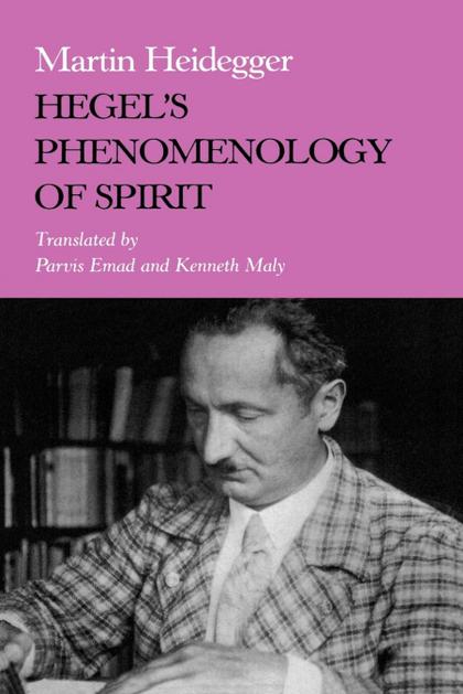 HEGEL S PHENOMENOLOGY OF SPIRIT.