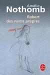 ROBERT DES NOMS PROPRES.