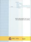TEXTO REFUNDIDO DE LA LEY DE SOCIEDADES DE CAPITAL                              ACTUALIZACIÓN N