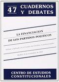 FINANCIACIÓN DE LOS PARTIDOS POLÍTICOS, LA.