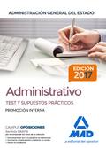 ADMINISTRATIVO DE LA ADMINISTRACIÓN GENERAL DEL ESTADO (PROMOCIÓN INTERNA). TEST