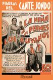 Figuras del cante jondo. La Niña de los Peines. Los Cuyanos  (FACSÍMIL)