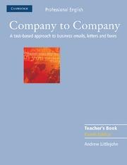 COMPANY TO COMPANY TEACHERS BOOK
