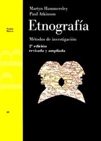 ETNOGRAFÍA: MÉTODOS DE INVESTIGACIÓN