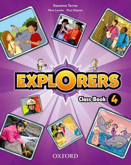 EXPLORERS 4 CLASS BOOK PK