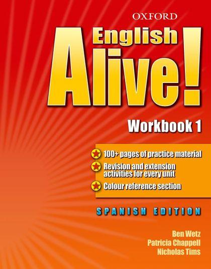ENGLISH ALIVE 1 WB SPANISH