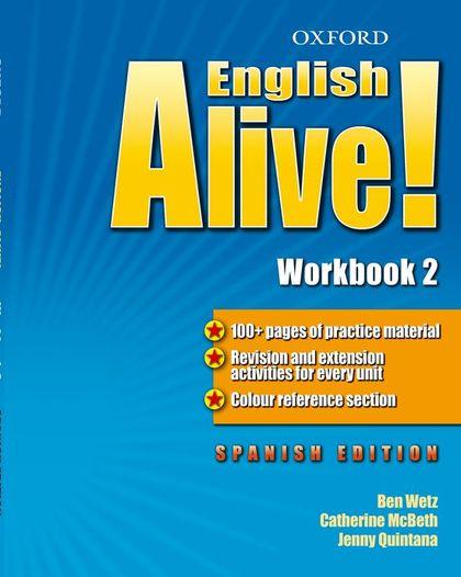ENGLISH ALIVE 2 WB SPANISH