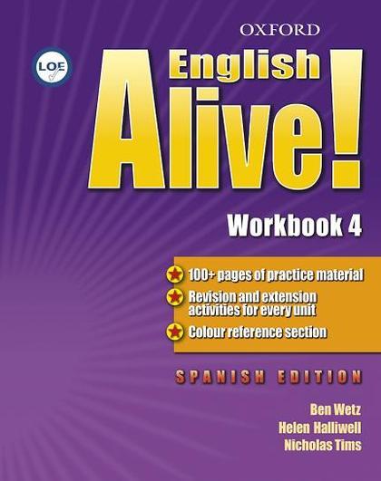 ENGLISH ALIVE 4 FICHA