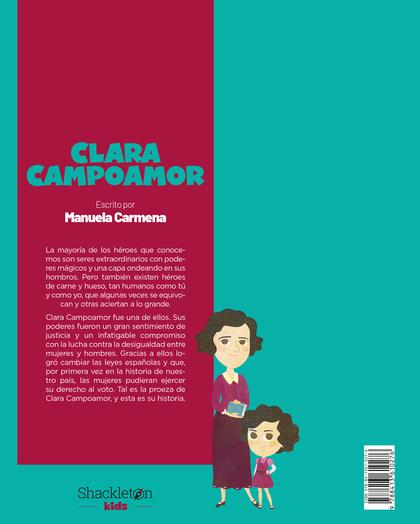 CLARA CAMPOAMOR. ESCRITO POR MANUELA CARMENA