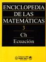 Enciclopedia de las matemáticas III