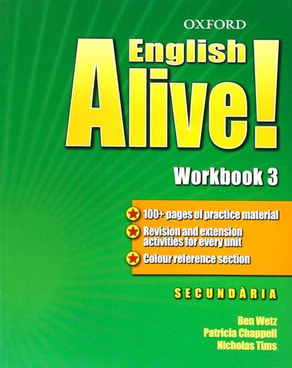 ENGLISH ALIVE! 3 WB CATALAN