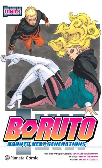 BORUTO Nº 08                                                                    NARUTO NEXT GEN