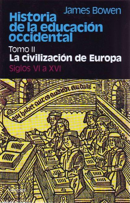 HISTORIA DE LA EDUCACION OCCIDENTAL II