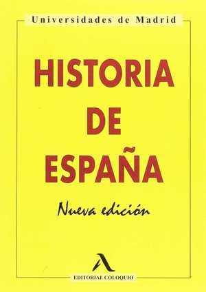 HISTORIA DE ESPAÑA. NUEVA EDICIÓN