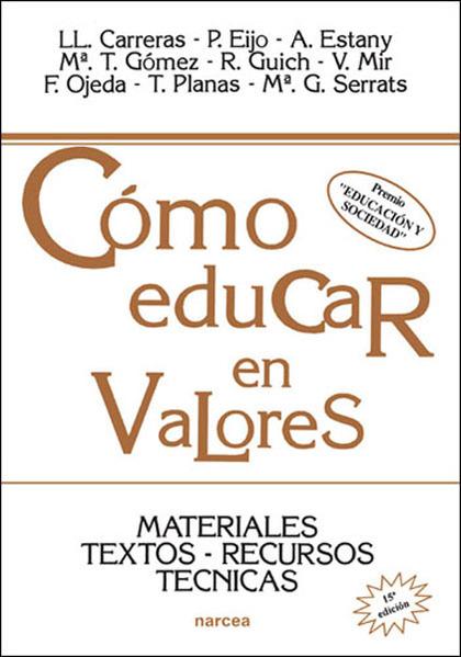 COMO EDUCAR VALORES