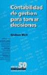 CONTABILIDAD DE GESTION PARA TOMAR DECISIONES