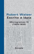 MICROGRAMAS III (1925-1932)