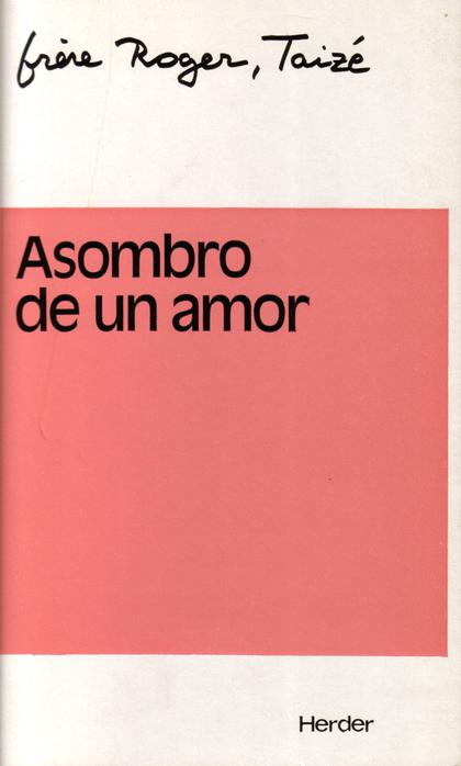 ASOMBRO DE UN AMOR : PRIMERA PARTE