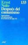 DESPUES DEL COMUNISMO