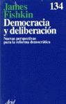 DEMOCRACIA DELIBERACION