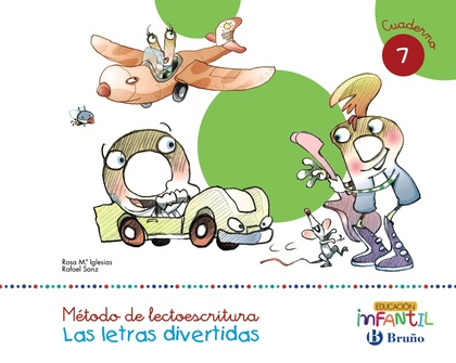 LETRAS DIVERTIDAS 7 LECTOESCRITURA (5 AÑOS) 2016