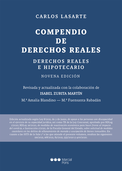 COMPENDIO DE DERECHOS REALES                                                    DERECHOS REALES