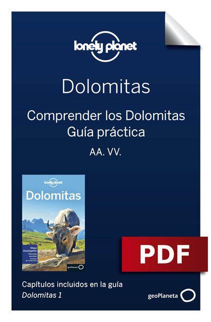 DOLOMITAS 1_11. COMPRENDER Y GUÍA PRÁCTICA