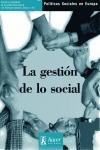 LA GESTIÓN DE LO SOCIAL.