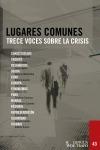 LUGARES COMUNES. TRECE VOCES SOBRE LA CRISIS