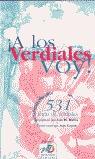 A LOS VERDIALES VOY