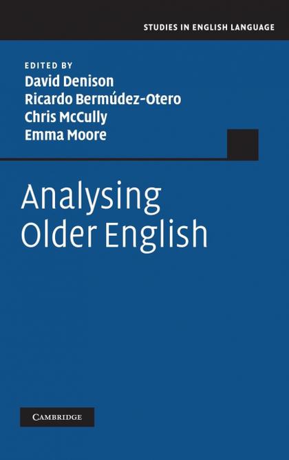 ANALYSING OLDER ENGLISH