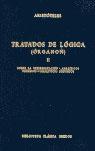 TRATADOS DE LOGICA (ORGANON) II(INTERPRETACION.ANALITICOS 1ºY 2º/N115)